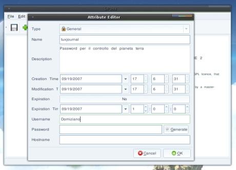 GPass: mantenere le password al sicuro