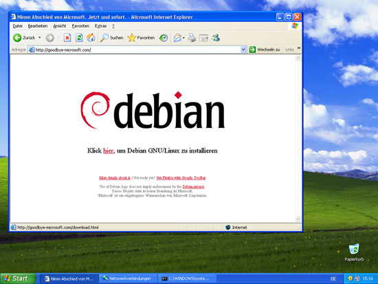 Installare Debian da Windows (1/2)