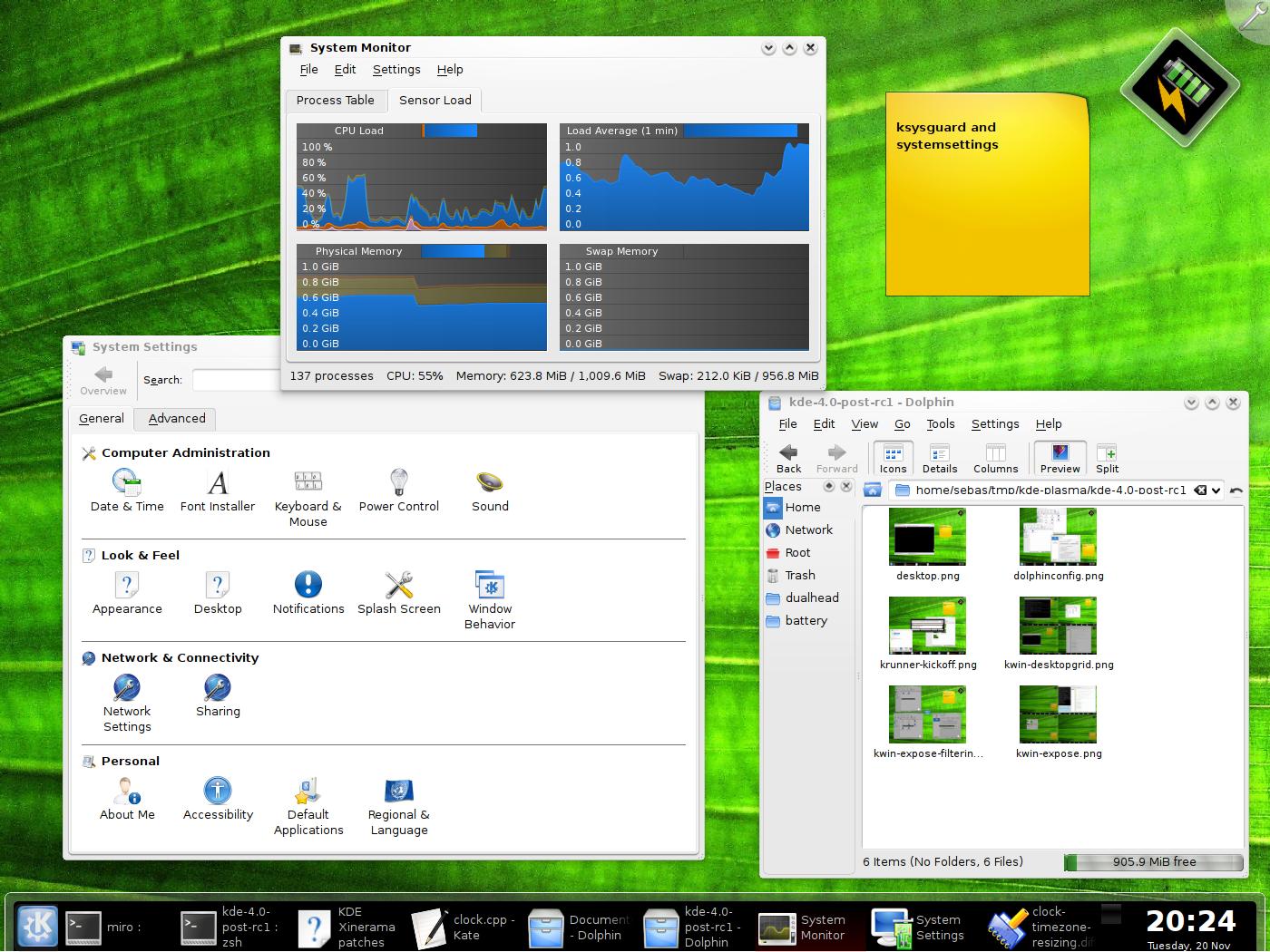 Photo Gallery: KDE 4 quasi pronto per il lancio