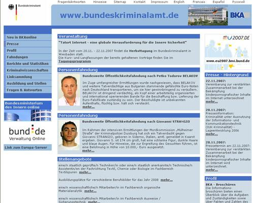 La Germania discute sul Trojan poliziotto