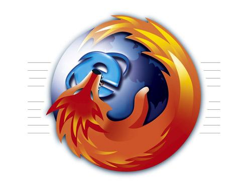 Firefox ha puntato Explorer