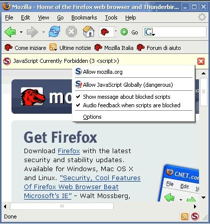 Firefox: 10 estensioni per renderlo sicuro