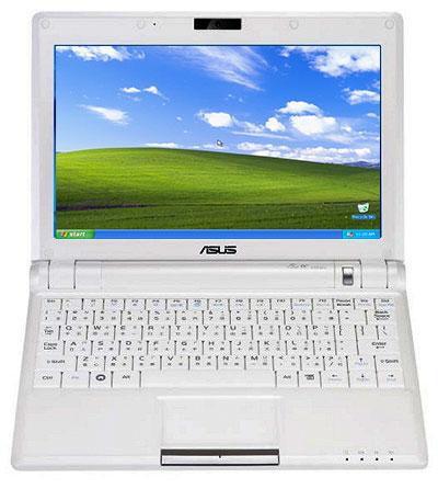 Asus Eee PC: più economici quelli con Windows