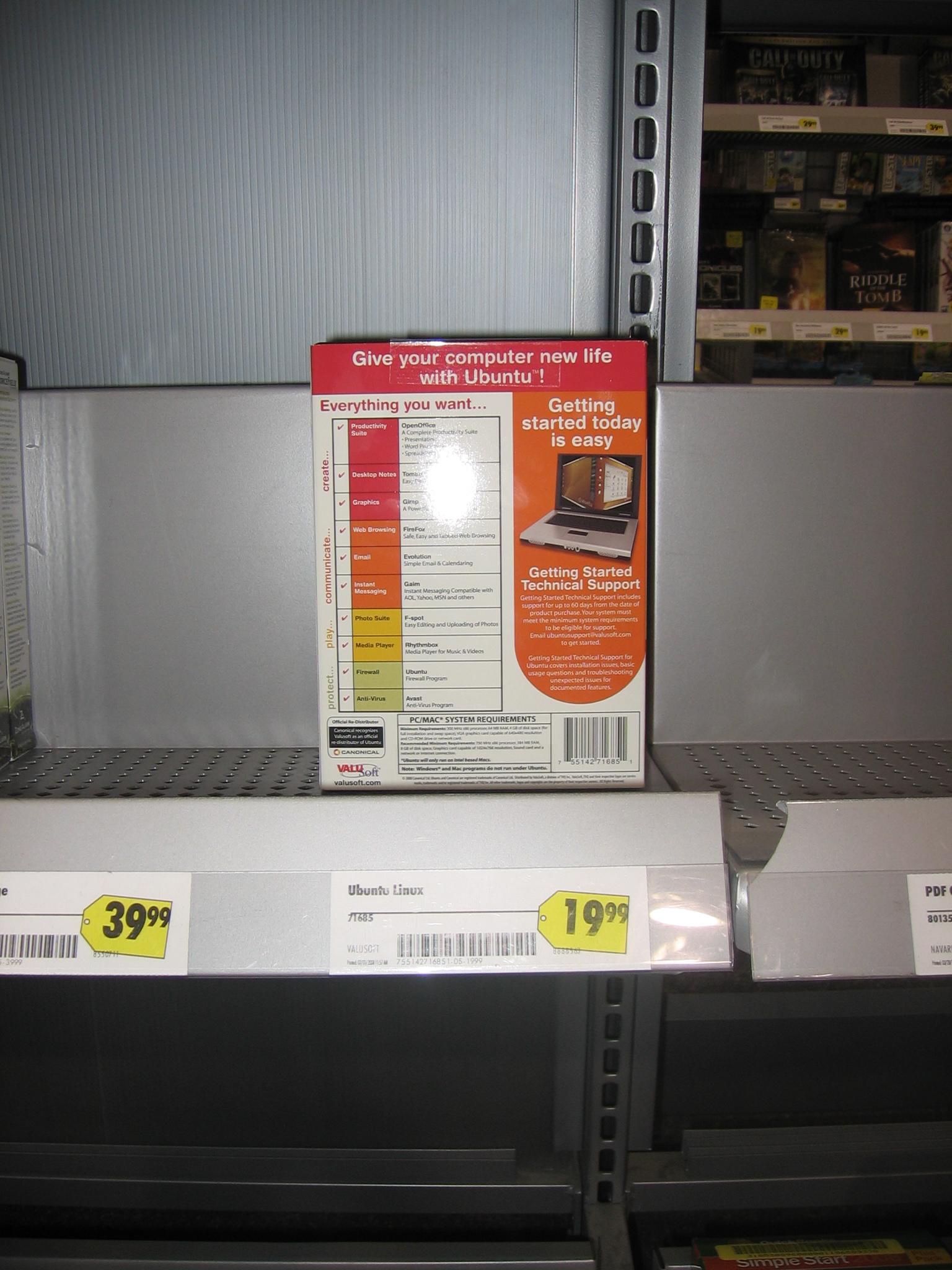 TuxPerle: Ubuntu arriva nei grandi magazzini