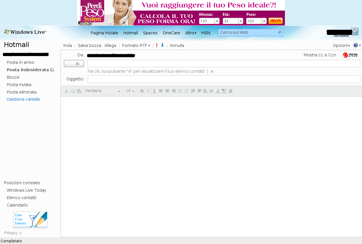 La nuova Hotmail non funziona su GNU/Linux?