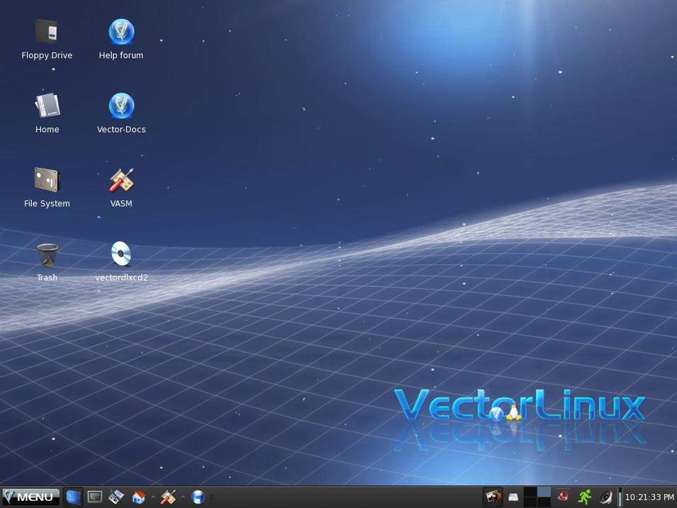 Screenshot Review: VectorLinux 6.0