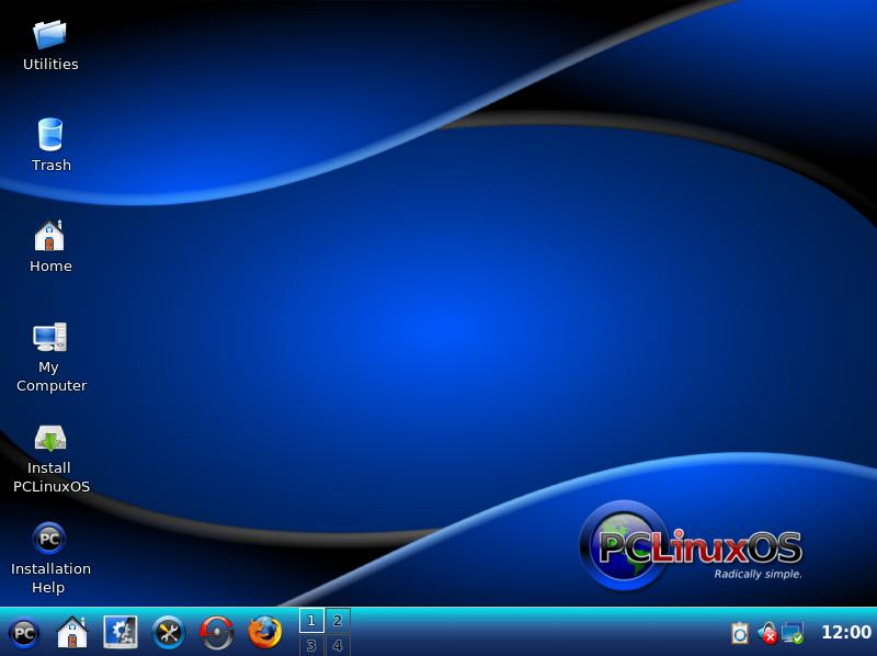 Screenshot review: PCLinuxOS 2009.1
