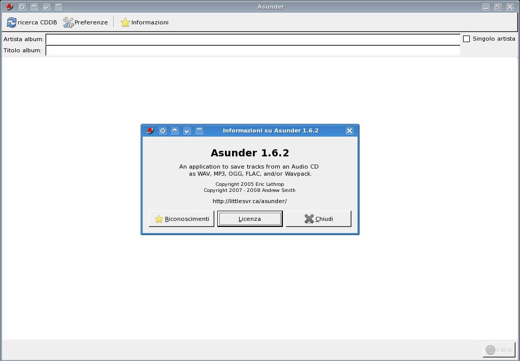 Asunder: la conversione dei file audio non è più un problema