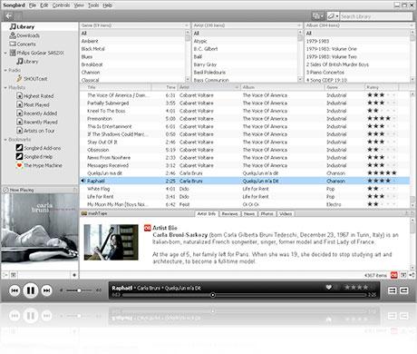 songbird-1.1-screenshot