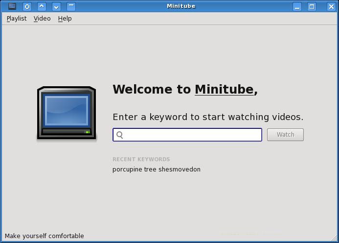 Minitube: usare YouTube senza il browser