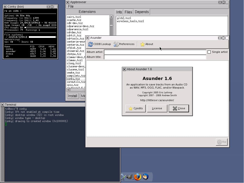 TinyCoreLinux: una distribuzione veramente mini