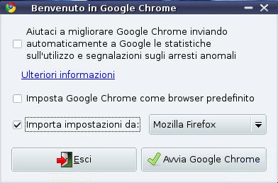 Google Chrome per Linux, prova su strada