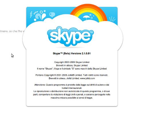 Skype 2.1: la seconda Beta fa condividere il desktop