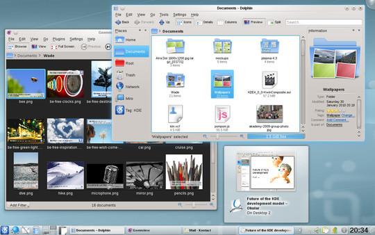 OpenSUSE 11.3: la Milestone 2 ha KDE 4.4