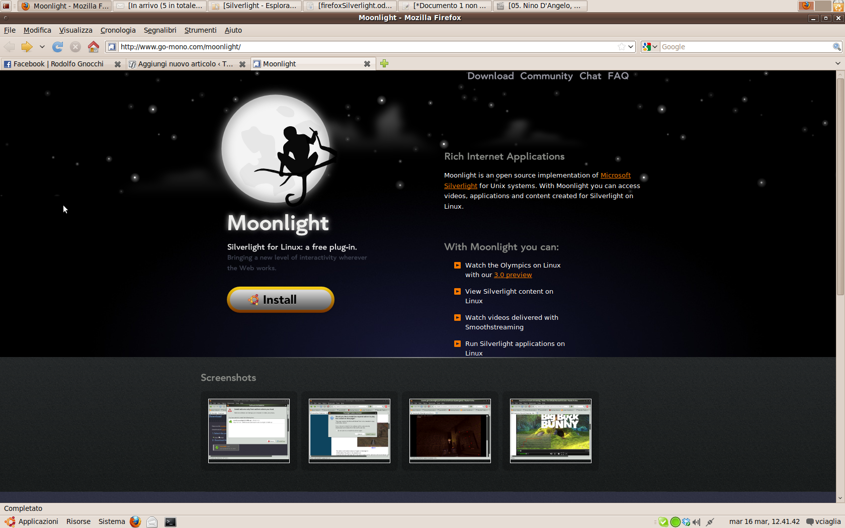 Guardare RAI.tv su GNU/Linux: installiamo Moonlight