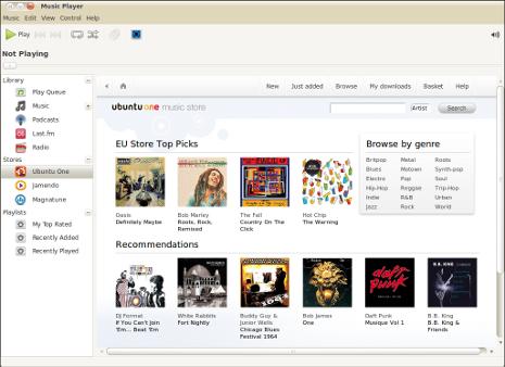 ubuntuOneMusicStore