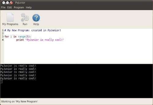 PyJunior: Python per i più piccoli