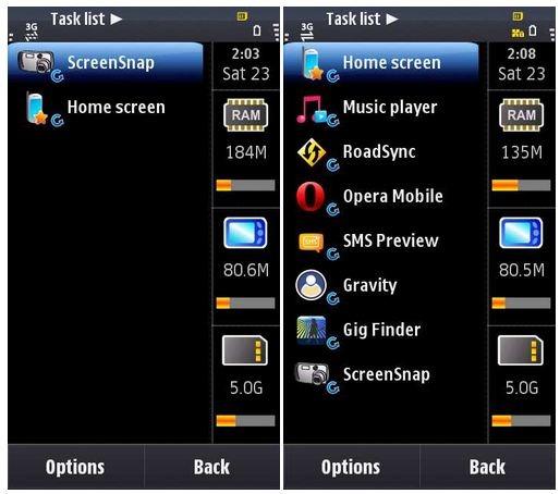 Symbian: con una ROM, 62 applicazioni in multi-tasking