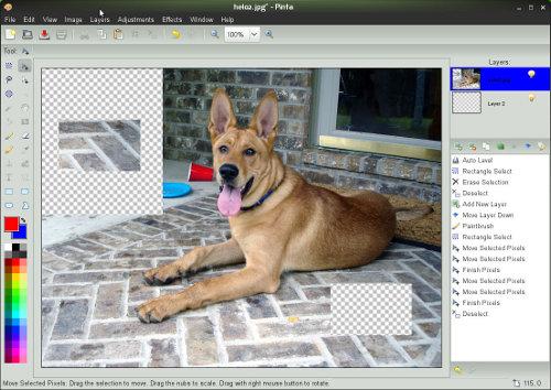 Discutiamone: Pinta l'unica alternativa a GIMP?
