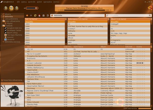 Songbird, addio al supporto ufficiale a Linux