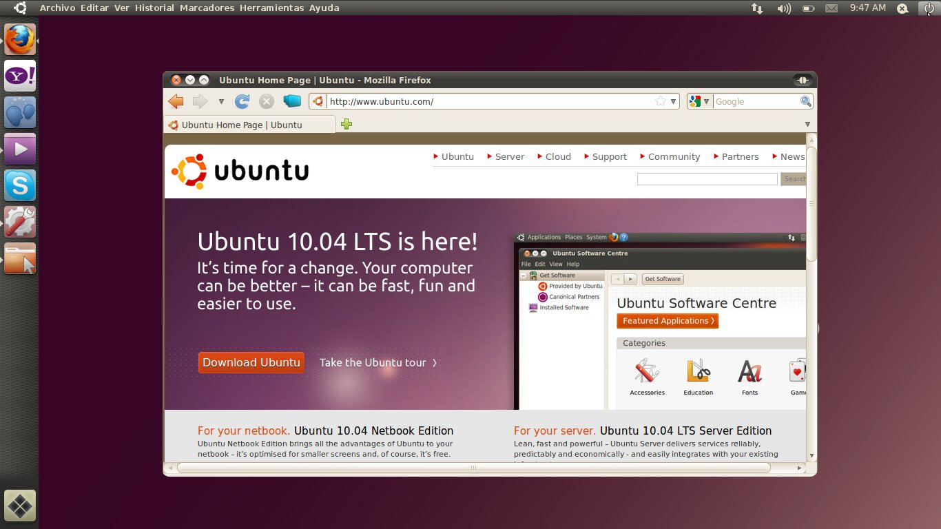 Ubuntu 10.10: ecco i primi mockup dei Window Indicators