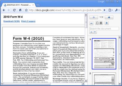 Google Chrome per Linux avrà il suo lettore di PDF integrato
