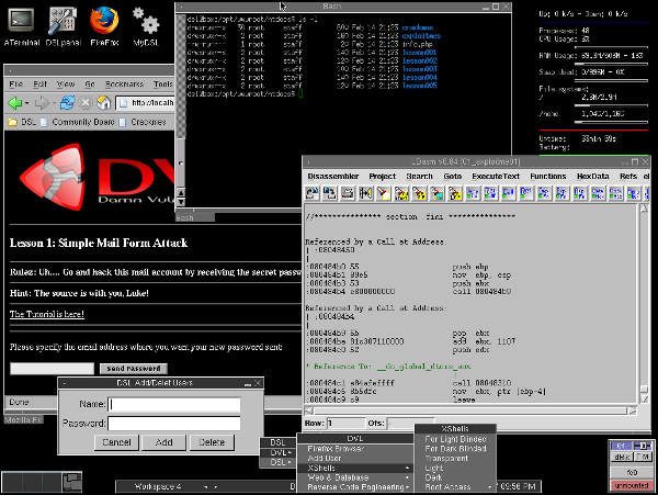 Damn Vulnerable Linux: la distro più insicura del pianeta!