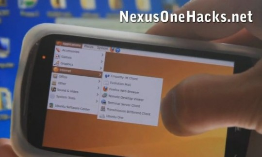 Ubuntu sul Google Nexus One: non è uno scherzo (video)