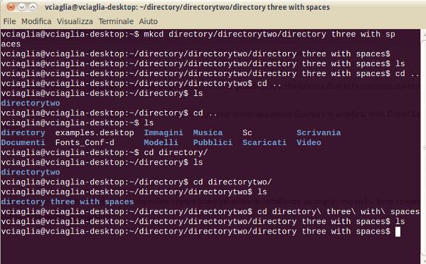 Creare e cambiare una nuova directory con un solo comando