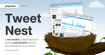 TweetNest: fare un backup completo del tuo Twitter