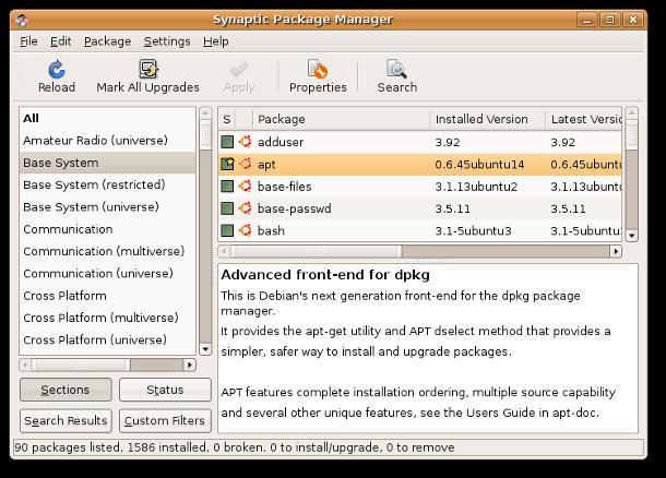 Synaptic scomparirà da Ubuntu, è ufficiale
