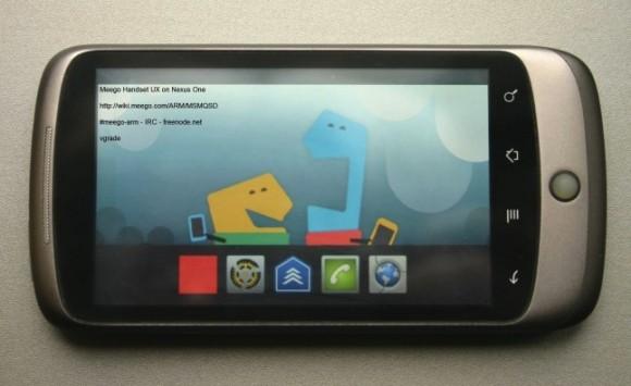 MeeGo è stato portato su un telefono con Android (video)