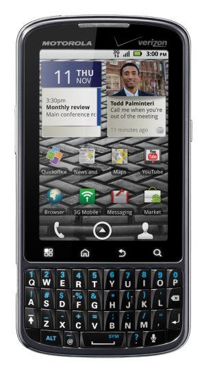 Droid Pro: Motorola lancia la sfida ai BlackBerry