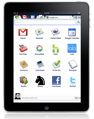 Chrome OS sull'iPad, è l'opensource bellezza!