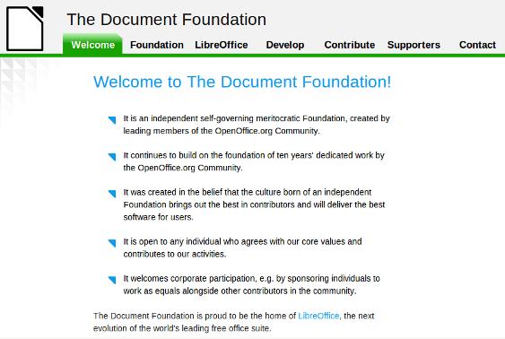 documentFoundation