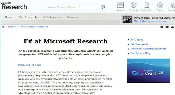 Microsoft rilascia F# sotto licenza Apache 2.0