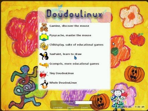 DouDou Linux, una distribuzione per i più piccoli