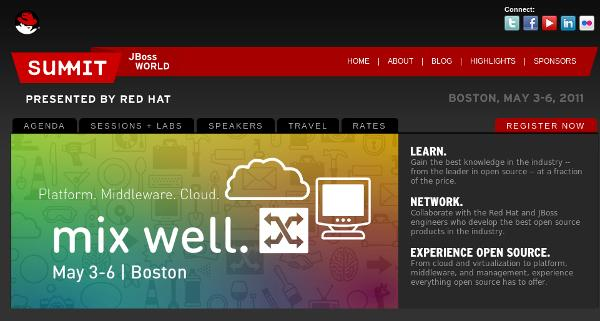 Aperte le iscrizioni al Red Hat Summit e JBoss World 2011