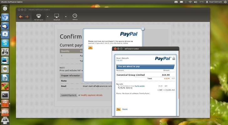 PayPal-Ubuntu