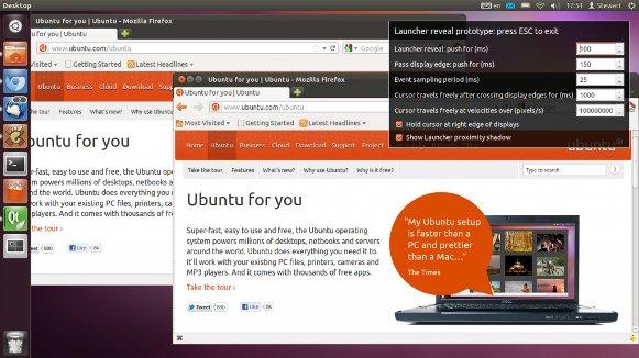 UbuntuLauncherRevealPrototype