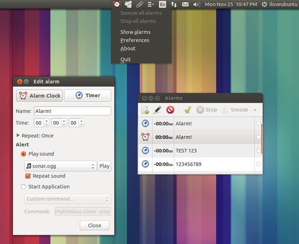 Alarm-Clock-ubuntu