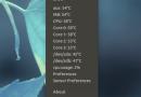 Psensor: temperatura del PC sempre sotto controllo!