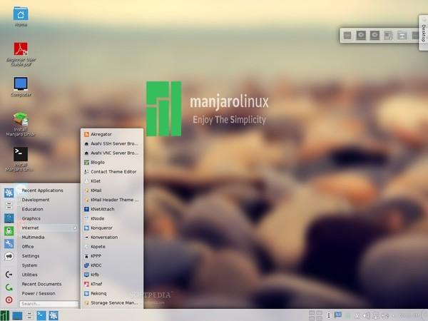 Manjaro-KDE-0-8-11-Preview-1