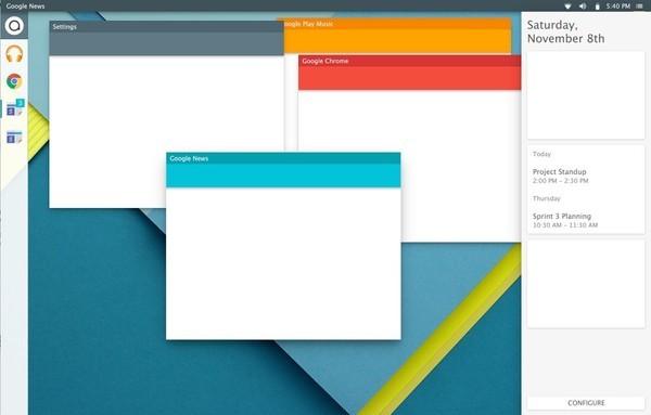 Linux-google-Material-Design